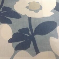 John Lewis TYNEHAM Fabric Made to measure roman blind in blue
