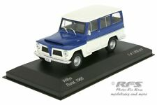 Willys Rural - Baujahr 1968 - blau / weiss - 1:43 WB092 - Whitebox