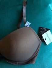 CALVIN KLEIN Customised Fit Bra 36DD Brand New With Tags Beige/Coffee