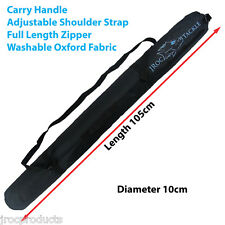 105 x 10cm Fishing Rod Carry Storage BAG Protective Case, Accessory Bag Washable