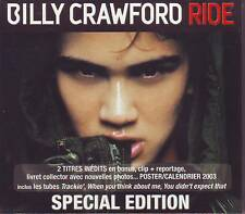 Billy Crawford - Ride (2002) Special Edition CD Neuware