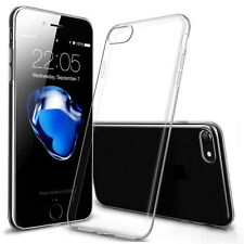 "UltraSlim TPU Case iPhone 7 4.7"" Schutz Hülle Silikon Cover Clear Transparent"