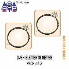 SMEG, OMEGA, BLANCO, FAN FORCED OVEN ELEMENT WITH BOLTS 2200W-SE115B PACK 2