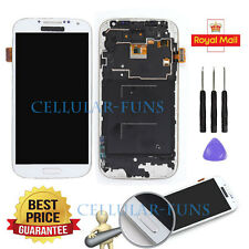 FOR SAMSUNG GALAXY S4 I9505 LCD DISPLAY DIGITIZER SCREEN TOUCH REPLACEMENT WHITE