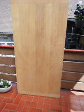 Tischplatte / Holzplatte massiv Buche  geschliffen unbehandelt Länge 156 cm
