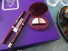 Oriflame Tranquil peach eyeshadow duo - two make up pencils & tube refills