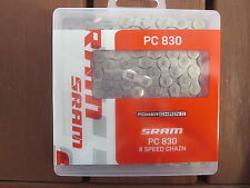 SRAM PC830 6/7/8 SPEED ROAD AND MOUNTAIN BIKE CHAIN *NEW*