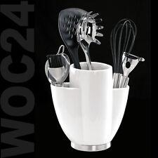 Besteckhalter Porzellan Halter Küchenhelfer Küchenutensilien Utensilienhalter