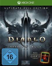 Diablo 3 III Ultimate Evil Edition Reaper of Souls - Xbox One Spiel - NEU&OVP