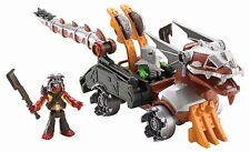 Fisher Price Toy - Imaginext - Serpent Battle Wagon Vehicle With Figures (3+) SF