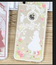 Disney Alice In Wonderland Clear Silicone Gel Case For iPhone 6/6s. BN