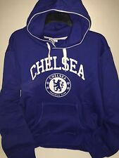 Chelsea Football Club Classic Graphic Hoodie Royal Men's Size Large