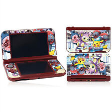 Pokemon Pikachu Vinyl Decal Cover Skin Sticker for Nintendo 3DS XL LL Console