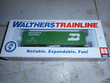 WALTHERS HO TRACK CLEANING CAR BURLINGTON