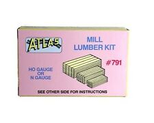 Atlas 791  Stacked Mill Lumber Kit H0/00 Gauge - 1st Class Post