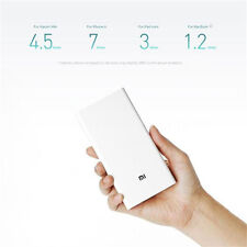 Genuine Xiaomi Mi 20000mAh Power Bank Portable Charger 2 USB Output Fast Charge