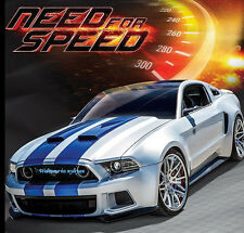 New 1:24 Maisto Need For Speed Ford Mustang Diecast Model Racing Car Toy In Box