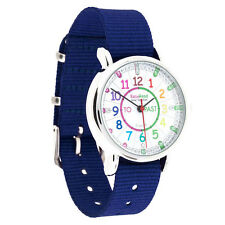easy read time teacher watch for kids - Blue Band - Coloured Face