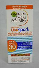 Garnier Ambre Solaire UV Sport Multi-Resistente Sonnenschutzmilch 30 UVA/UVB