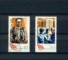 1968  DDR Satz  gestempelt  Mi.-Nr. 1363 + 1364  Kongress des FDGB in Berlin