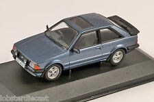 FORD ESCORT Mk3 XR3 in Caspian Blue 1/43 scale model CORGI Vanguards