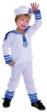 TODDLER CUTE SAILOR SUIT BOYS GIRLS BOOK WEEK COSTUME OUTFIT NEW AGE 2-3