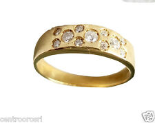 Brillantring Gold Ring 18Kt 750 in Diamantring mit Diamant Brillant 0,25ct G VVS