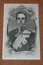 Vintage Postcard: Portait of King Alfonso of Spain, 1906