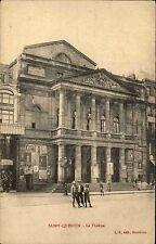 Feldpostkarte 1. Weltkrieg aus Saint-Quentin Frankreich Theater nach Bielefeld