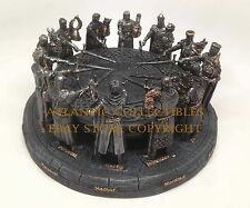 King Arthur and The Medieval Hero Knights of The Round Table Figurine Sculpture