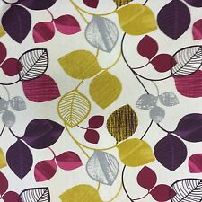 Saterno Aubergine Fabric By Simpsons. Half RRP