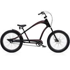 Electra Revil 3i  3Gang Herren Beachcruiser, Cruiser Chopperbike, Disc, schwarz