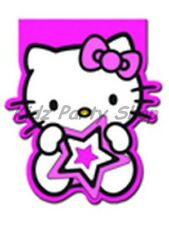 Hello Kitty Star Birthday Party - 4 Notebooks - Free Postage in UK