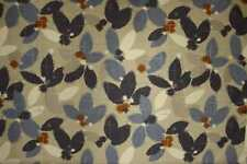 John Lewis Curtain/Upholstery Fabric Design Sakura blue 1 metre sale fabric