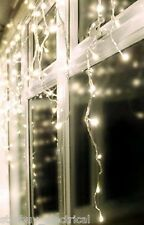 Premier 360 LED Bright White Snowing Icicles Supabrights, Christmas Light