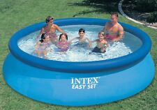 Intex 56410 Easy-Set Schwimmbecken Quick-Up-Pool Swimming Pool 457x91cm