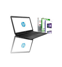 "15.6"" HP Notebook AMD Quad Core 8GB RAM 250 GB SSD Radeon R2 Windows 10 PRO NEU"