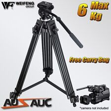 Pro Video Camcorder Tripod Kit with Fluid Drag Head