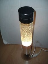 Crestworth/Mathmos...Vintage Nordic Glitter lamp, Clear fluid with glitter chips