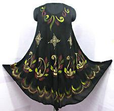 Sommerkleid Hippie Tunika Top Kleid Boho Strand Kaftan Größe 42 44 46 48 22 24