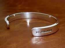 Men's Solid Sterling 925 Silver Heavy Torque  -Hand Made- by D. Locke