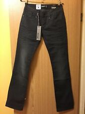 Brand New Firetrap Smokey Alice Blackseal Low Slim Fit Jeans - W28 X 34L