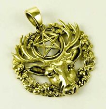 Pendant Hart Of The Wild Wood Size From The Top L3cm Bronze