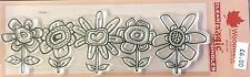 Woodware Clear Magic Stamp - Fab Flowers FRS332