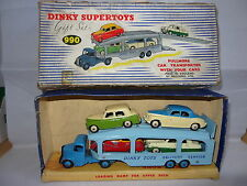 DINKY  PULLMORE CAR TRANSPORTER WITH 4 CARS - GS 990 GIFTSET
