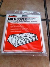durable clear plastic sofa cover for sofas up to 8ft long 42 wide x