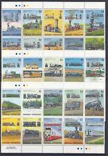 Eisenbahn - Lokomotiven  Grenada - Grenadinen  1141 - 70  **  (mnh)
