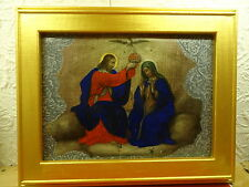 Krönung der Jungfrau Maria - Raffaello Santi 1517- Öl auf Leinwand - Restauriert