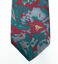 Hunter International corporate company tie Cheetah Big Game wild animal floral