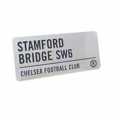 CHELSEA FC 'STAMFORD BRIDGE' STREET ROAD SIGN NEW OFFICIAL